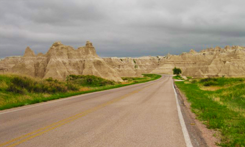 Badlands Loop Road, South Dakot