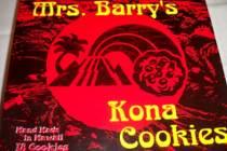Mrs Barry's Kona Cookies