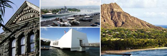 Tourist Attractions around HNL