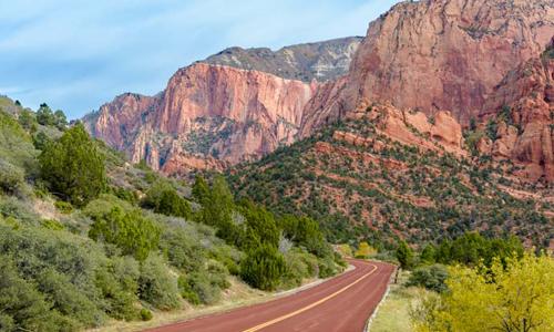 Zion National Park Scenic Drive, Utah