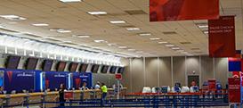 Enticements at Salt Lake City International Airport terminals