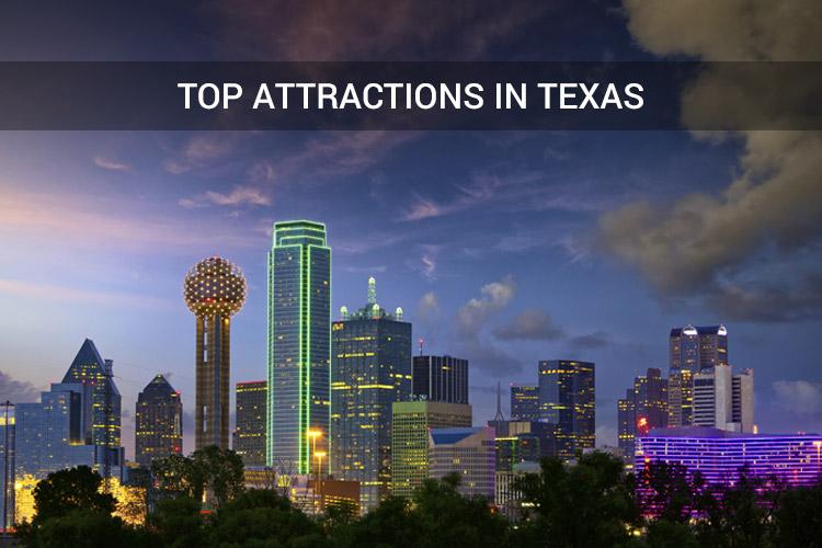 Top attractions in Texas