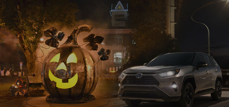 Rent a car in Oregon for Halloween