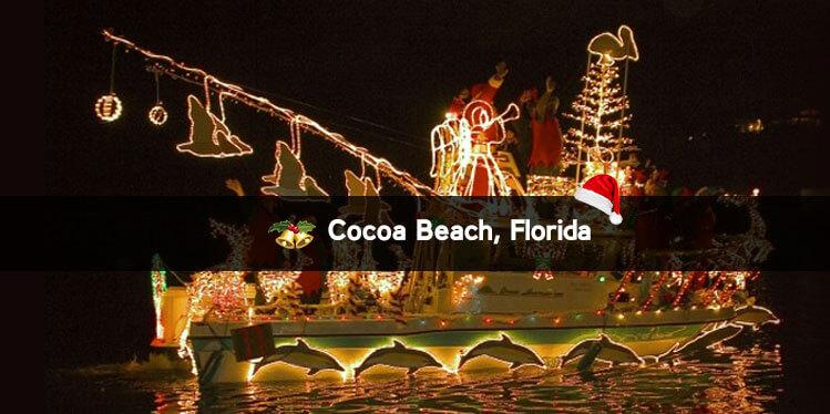 Cocoa Beach, Florida Christmas