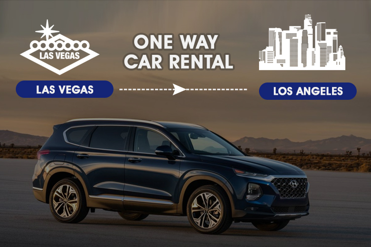 One-Way Car Rental from Las Vegas to Los Angeles