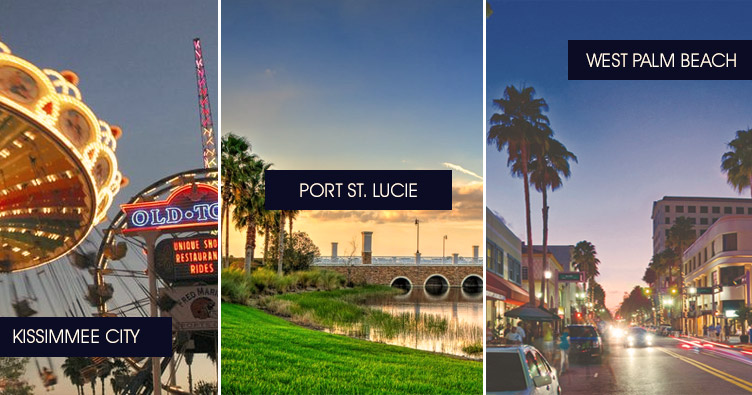 Places to see on the way orlando to Miami