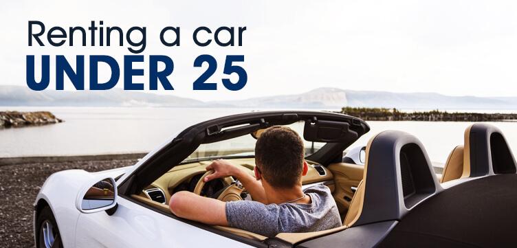Renting a car under 25