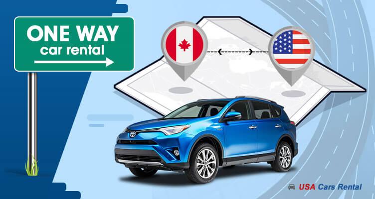 One-way Car Rental Canada to USA