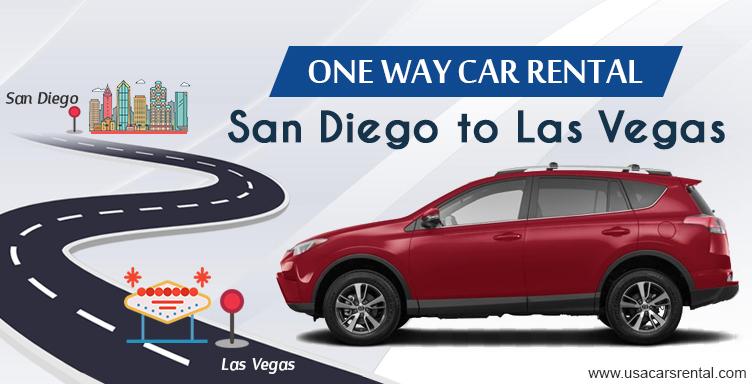 San Diego to Las Vegas – One-Way Rental